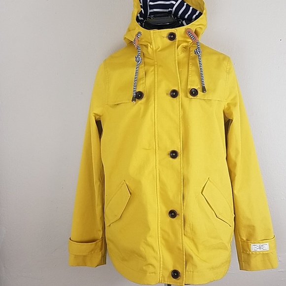 62bfdbfc2c93 Joules Jackets   Blazers - Joules Mustard Colored rain Jacket. Size 8
